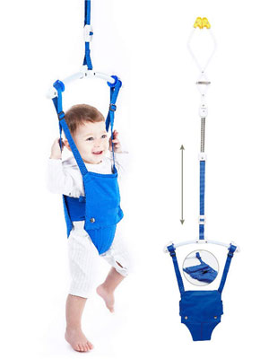 Baby Door Jumpers and Bouncers First Swings Hammock Walking Trainer Birthday Sport Fitness Toys