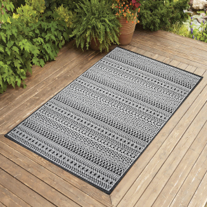 outdoor 4x6 5x7 6x9 8x10 patio jute rug carpet indoor modern entry hallway seagrass navy grey