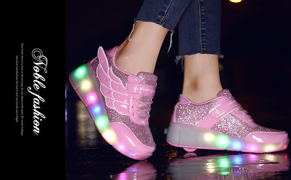 586 Pink shoes show