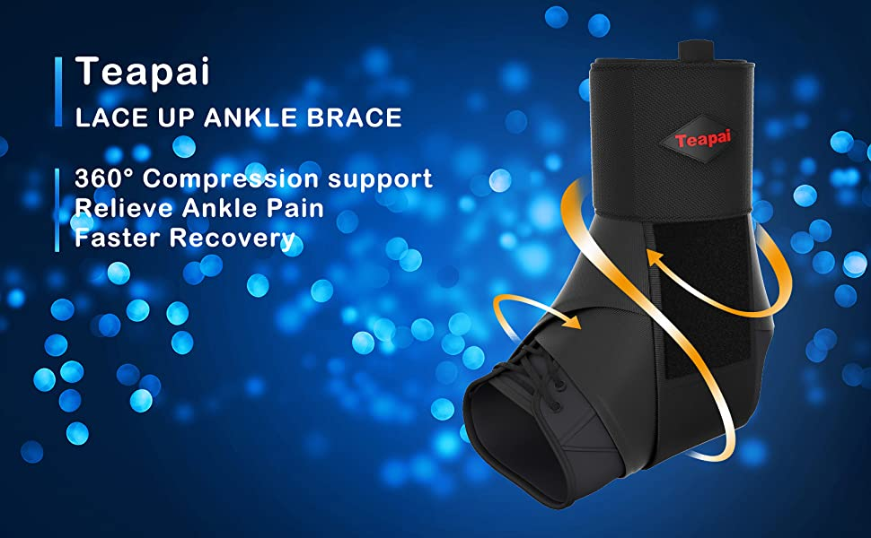 Teapai lace up ankle brace