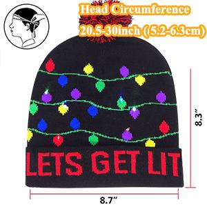 light knit hats for women