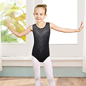 girls gymnastics leotards size 6