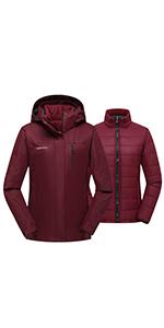 3in1 ski coat
