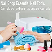 sealive dust remover brush nail dipping powder fall nail dip brush nail art dust brush blush brush