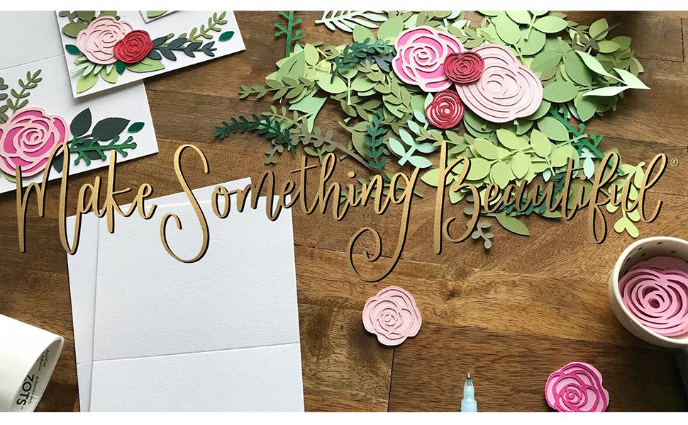 make something beautiful by cardstock warehouse