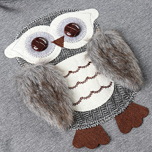 Hoodies for Big Girls Youth Kids Pullover Hooded Fuzzy Cute Owl