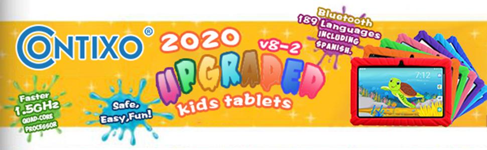 2020 Upgraded V8-2 Kids Tablets