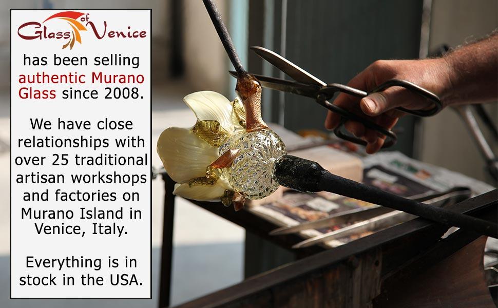 Glass Of Venice, Murano Glass, Murano Glass Jewelry, Murano Millefiori, Murano Glass Venice Italy