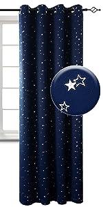 kids blackout curtains