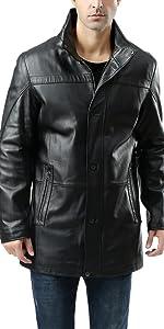 BGSD Men's Chad New Zealand Lambskin Leather