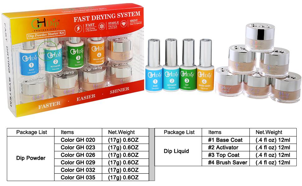 nail dip powder kit