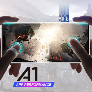 a1, app read speed