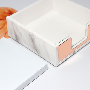 stick note holder memo case desk organizer