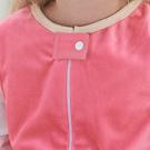 Soft zipper cover button