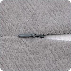 Soft comfort  removable cover, permium zipper