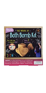 DIY bath bomb making kit for kids, make your own bath bombs