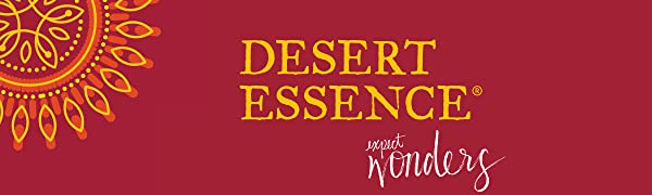 Desert Essence Logo, Expect Wonders