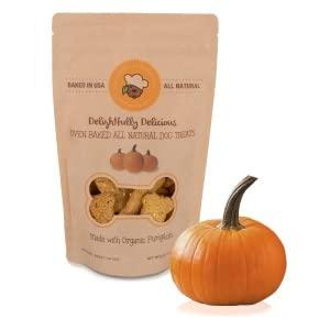 organic all natural pumpkin dog treats