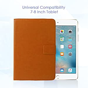 Cover, Case, Universal Cover, Sleek, Bright, Flip Cover, Pattern Design, Tablet Case, Emartbuy