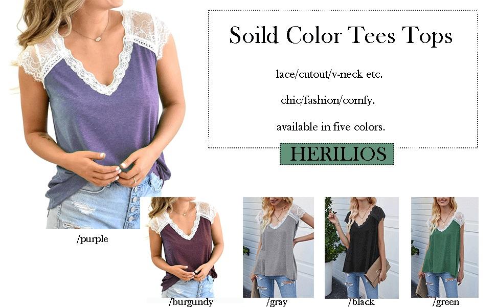 women solid t-shirt