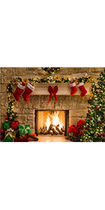 Christmas Themed Photography Backdrop Vinyl 5x3ft Photo Banner Supplies …