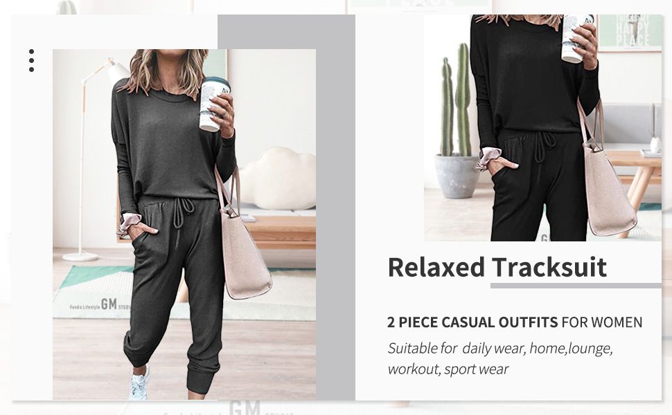 Two piece sweatsuits