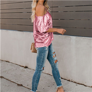 sequined t shirts for women
