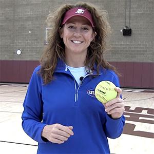 Michele Smith LeatherLast Leather Softball