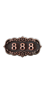 custom door name plate DIY wood number plague signs for mailbox hotel dorm personalized gifts