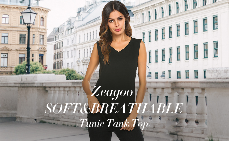 Zeagoo Sleeveless Tank Top