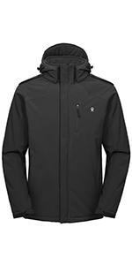 Men's Warm Softshell Jacket