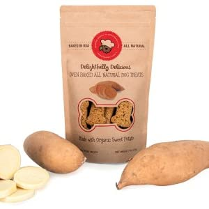 all natural organic sweet potato dog treats
