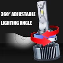 360 degree adjustable lighting angle