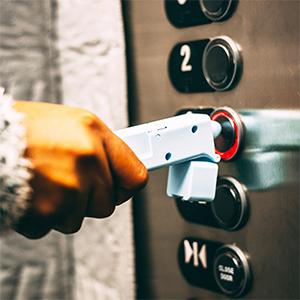 Anti-Touch,Anti-Touch +, Heygienic, Door Opener Tool, Button Presser Tool, Zero-Contact