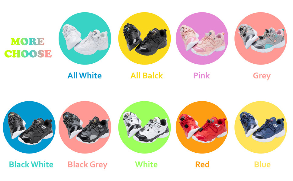 Lightweight Walking Shoes Athletic Running Shoes for Kids Boys Girls