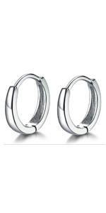 small hoop earrings cartilage