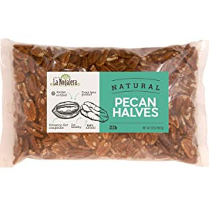 2 lbs pounds pecan pecans natural halves kosher delicious 100% natural raw unsalted shelled no shell