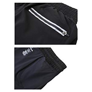 Running Shorts Men Pockets Quick Dry Light Breathable Athletic Shorts for Gym Basketball