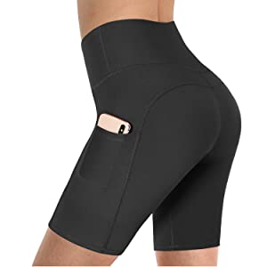yoga shorts with pockets
