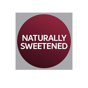 naturally sweetened