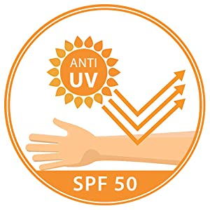 Anti-UV with SPF 50