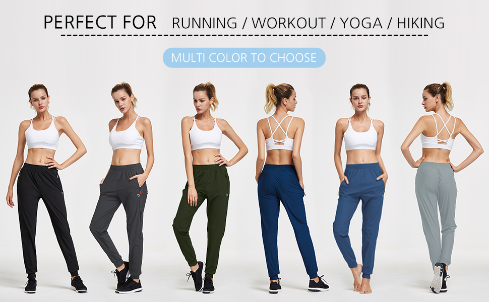tapered joggers women