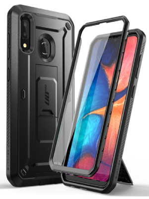 SupCase Unicorn Beetle Pro case for Samsung Galaxy A90 5G Rugged Holster Kickstand Screen Protector
