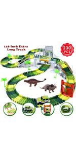 Dinosaur Race Track Toys