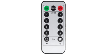 remote control 8 models twinkle flash steay on timer function dimmable copper wire fairy lights room