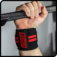 Serious Steel, Wrist Wrap, Weightlifting, Powerlifting, Cross-Fit, Wrist Support