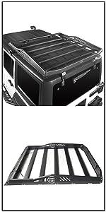 roof rack basket cargo carrier