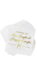 Napkins for bridal shower