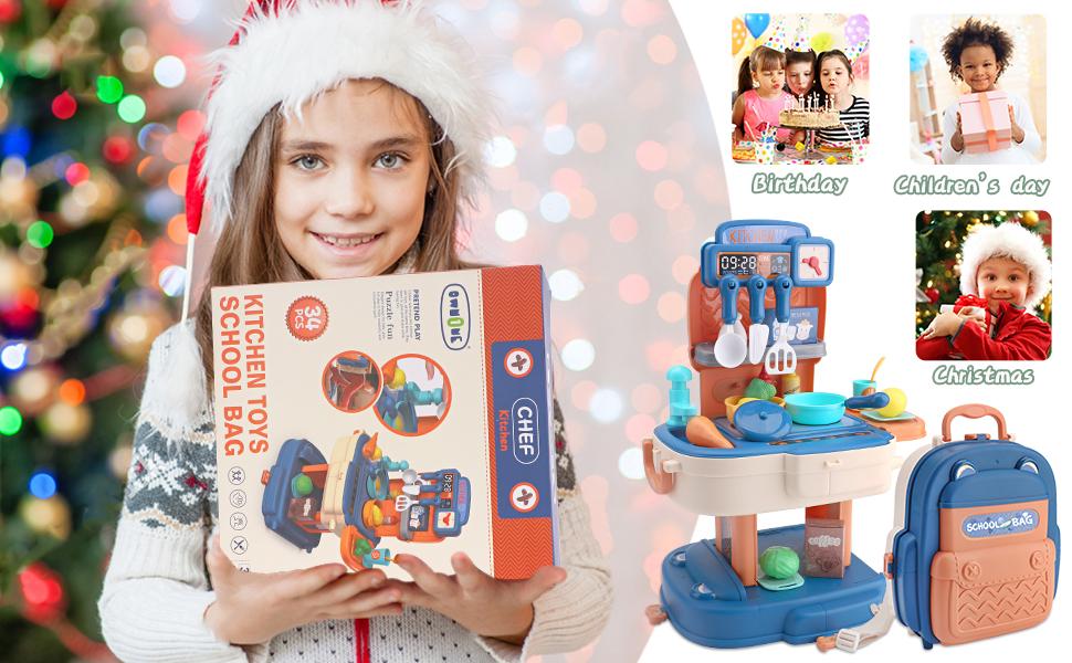 play kitchen toy set