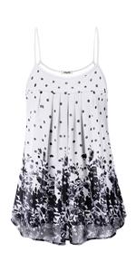 summer sleeveless tunic tank tops for women